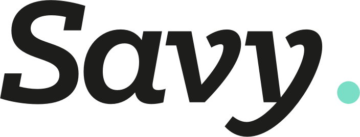 Logo for Savy