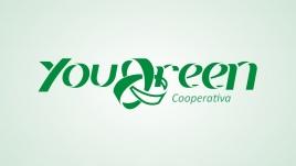 Logo for YouGreen Cooperativa de Beneficiamento de Materiais Recicláveis