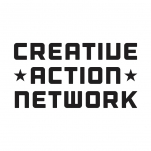 Logo for Creative Action Network