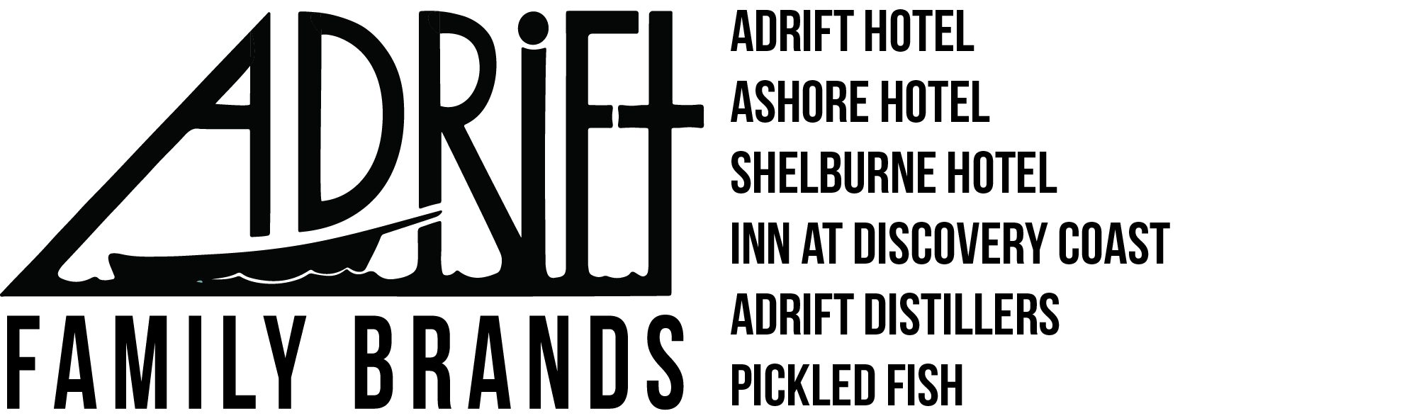Logo for Adrift Hotels SPC