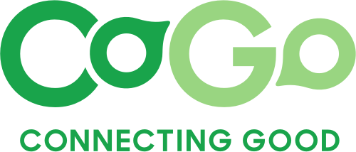 Logo for CoGo - Connecting Good