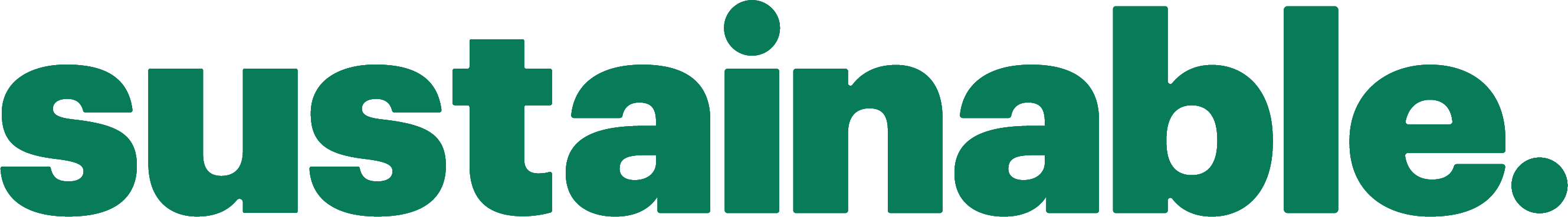 Logo for Sustainable