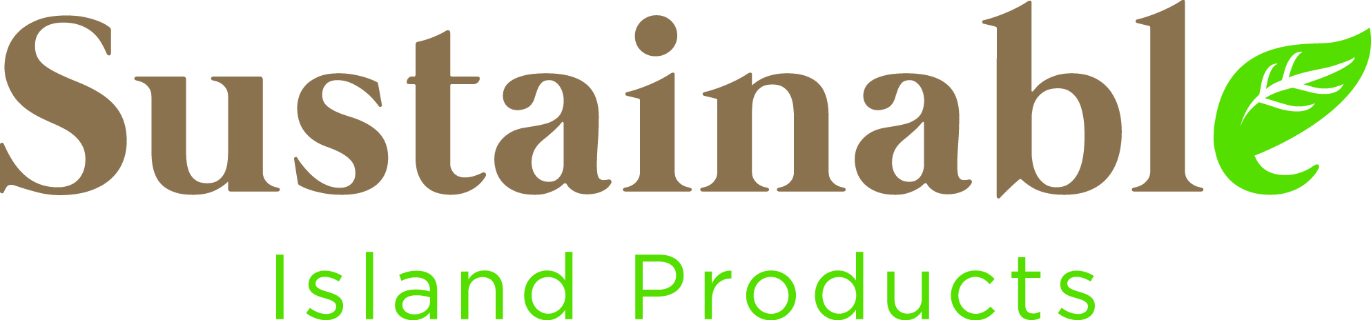 Logo for SUSTAINABLE ISLAND PRODUCTS