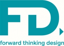 Logo for Forward Thinking Design