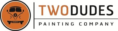 Logo for Two Dudes Painting Company