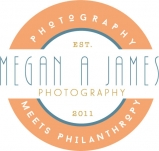 Logo for Megan A. James Photography