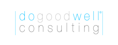 Logo for do good well consulting LLC