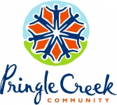 Logo for Pringle Creek Community- Sustainable Investments