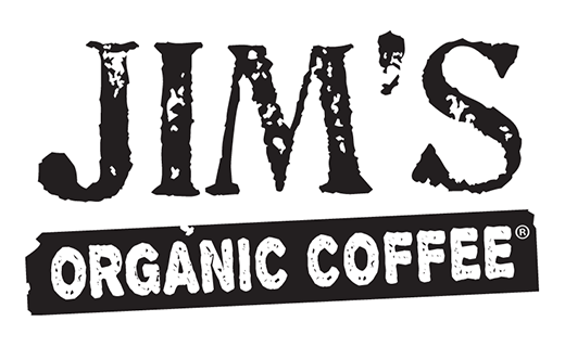 Logo for Jim's Organic Coffee