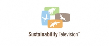 Logo for Sustainability Television