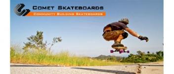 Logo for Comet Skateboards