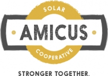 Logo for Amicus Solar Cooperative