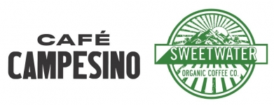 Logo for Cafe Campesino and Sweetwater Organic Coffee