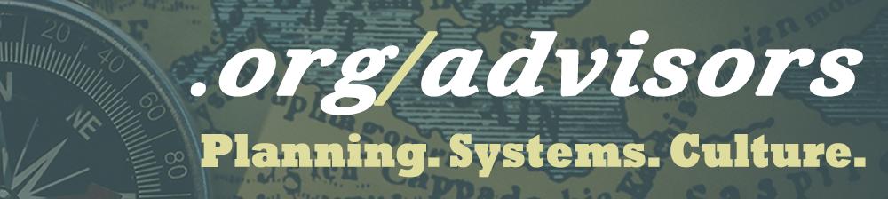 Logo for .org/advisors