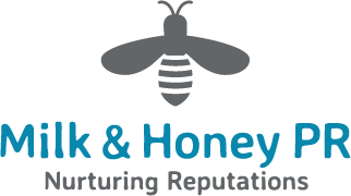 Logo for Milk & Honey PR LLP
