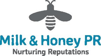 Logo for Milk & Honey PR LLP