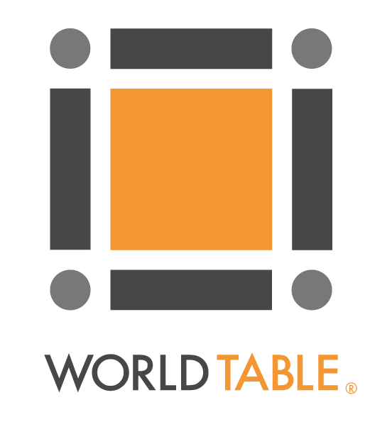 Logo for The World Table PBC