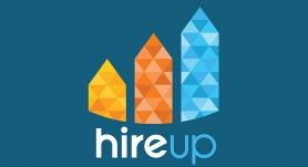 Logo for HireUp
