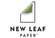 Logo for New Leaf Paper