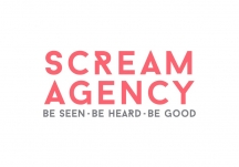 Logo for Scream Agency