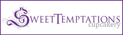Logo for Sweet Temptations Cupcakery