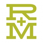 Logo for R+M Agency
