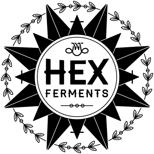 Logo for HEX Ferments