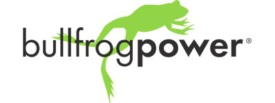 Logo for Bullfrog Power