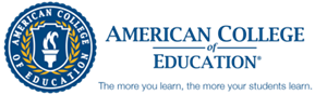 Logo for American College of Education