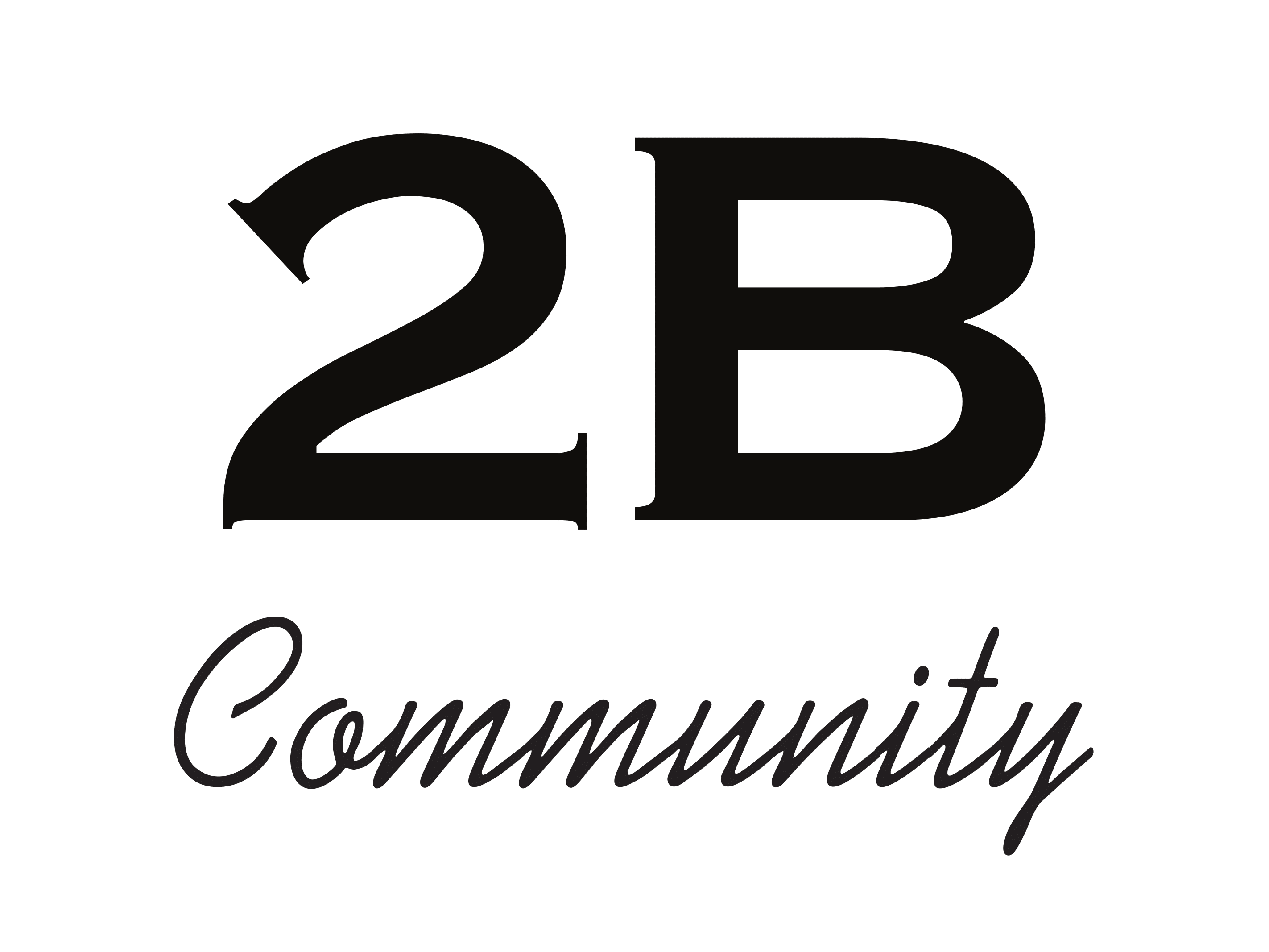 Logo for 2B Community
