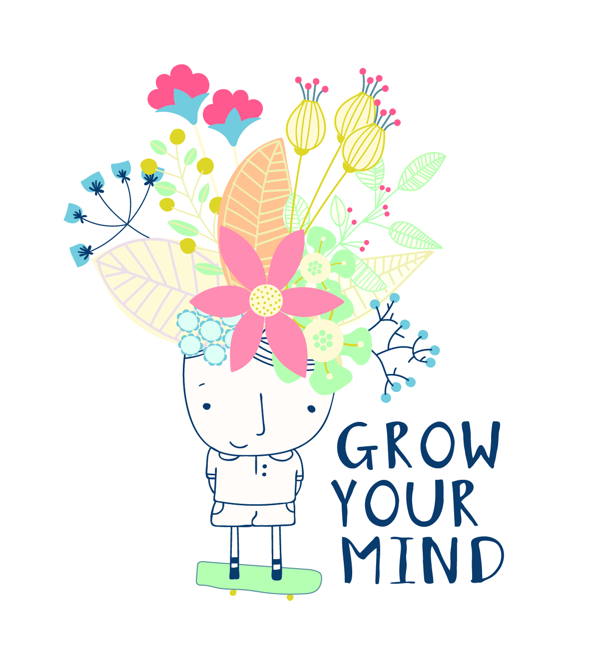 Logo for Grow Your Mind
