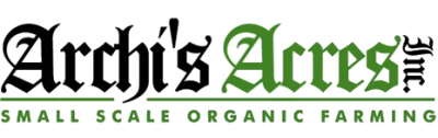Logo for Archi's Acres