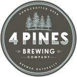 Logo for 4 Pines Brewing Company
