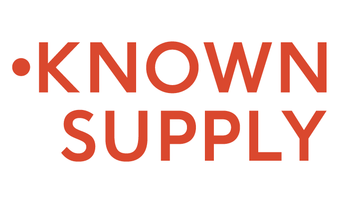 Logo for KNOWN SUPPLY
