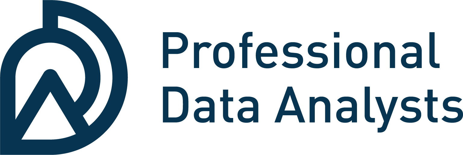 Logo for Professional Data Analysts