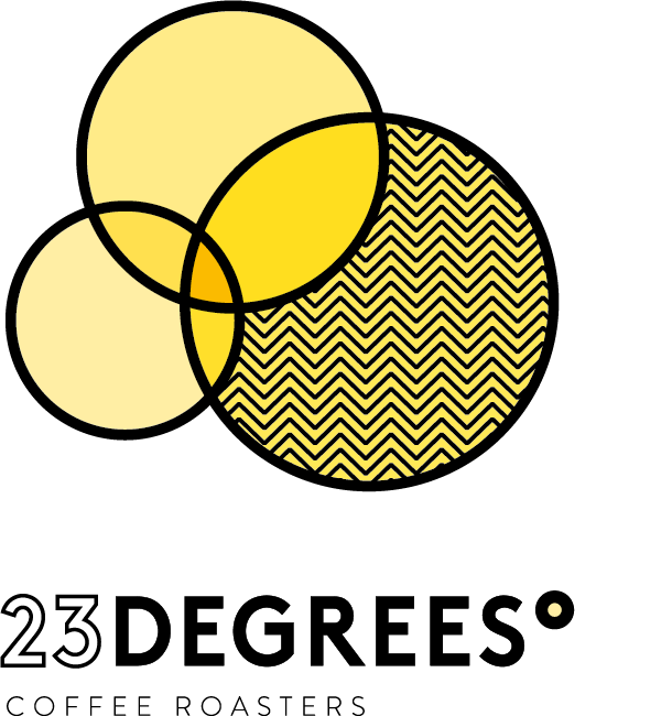 Logo for 23 Degrees Coffee Roasters
