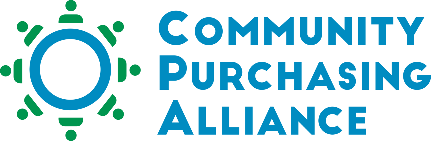 Logo for Community Purchasing Alliance