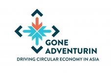 Logo for Gone Adventurin