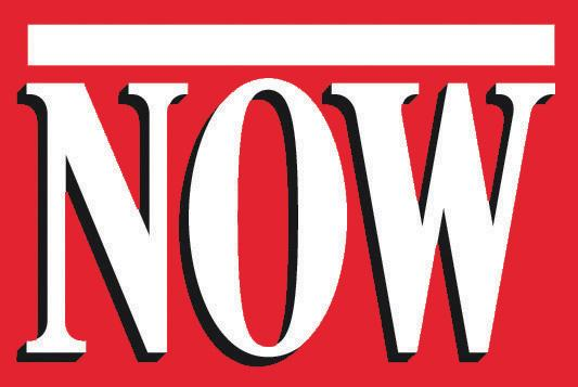 Logo for NOW Magazine