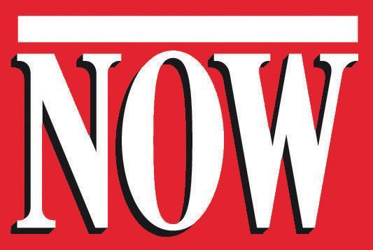 Logo for NOW Magazine