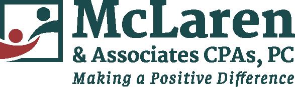 Logo for McLaren & Associates, CPAs, PC