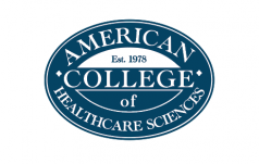 Logo for American College of Healthcare Sciences
