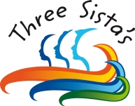 Logo for THREE SISTA'S