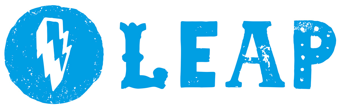 Logo for Leap