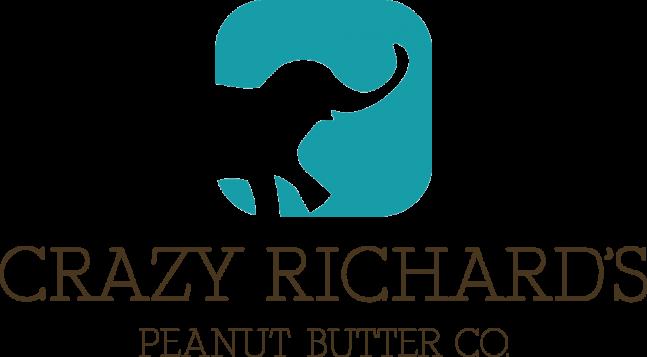 Logo for Crazy Richard's Peanut Butter Company