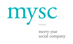 Logo for Merry Year Social Company (MYSC)