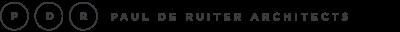 Logo for Paul de Ruiter Architects