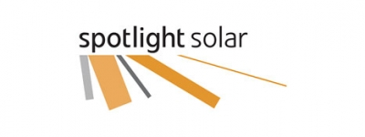 Logo for Spotlight Solar