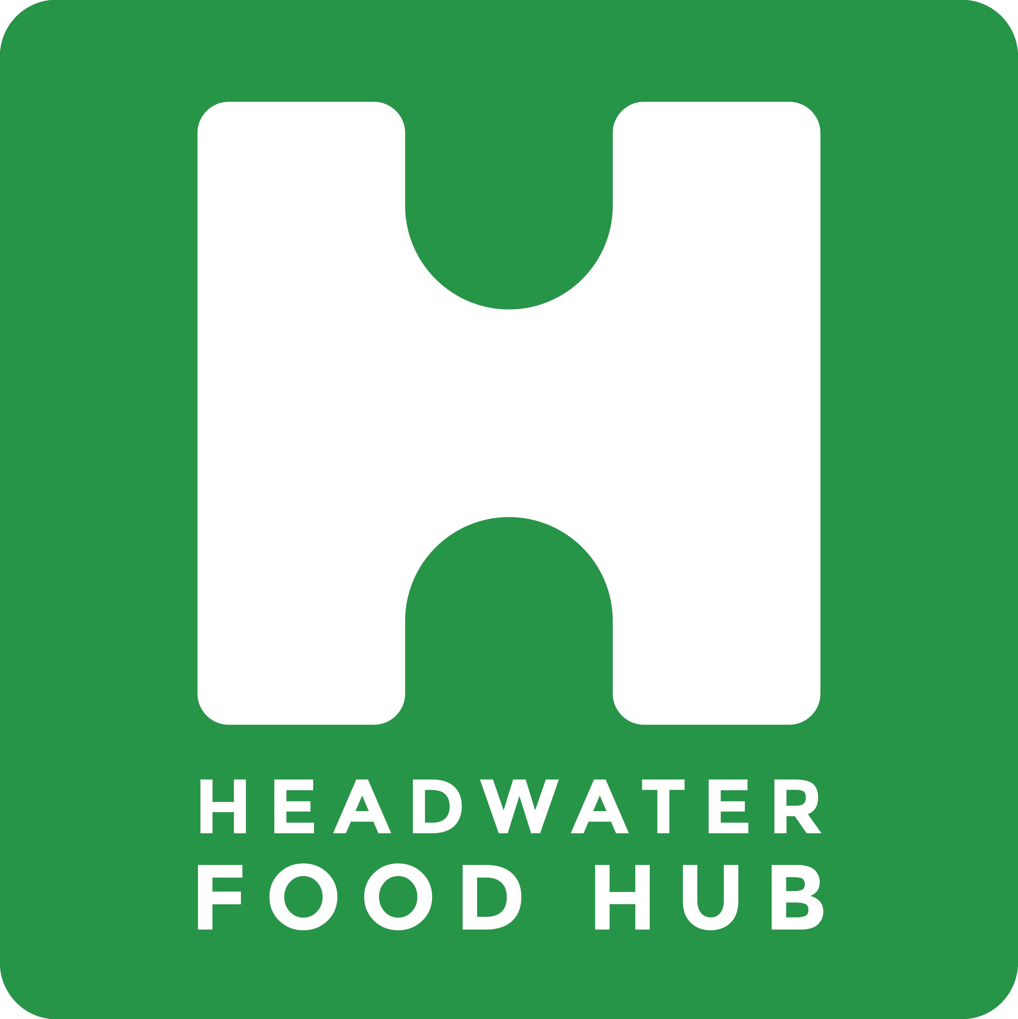 Logo for Headwater Food Hub