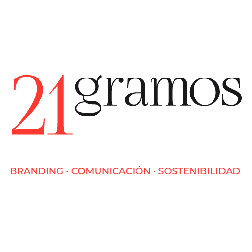 Logo for 21gramos